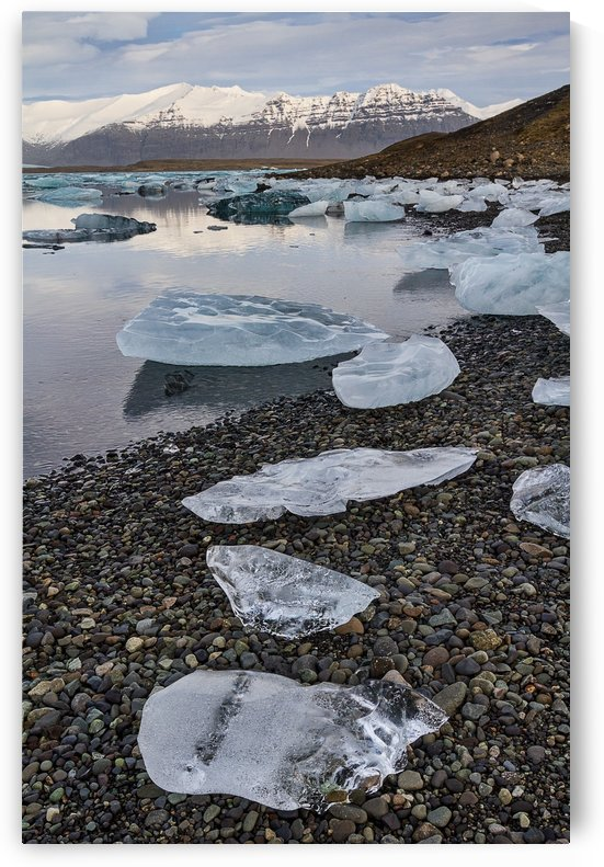 Jokulsarlon Lagoon, Iceland by Keith Truman