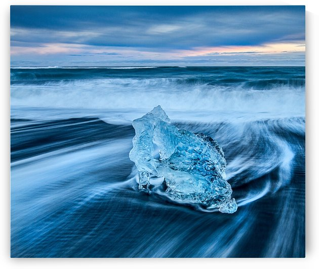 Jokulsarlon Ice Beach, Iceland by Keith Truman