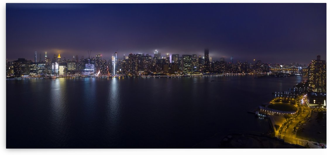 Manhattan Skyline by Glenn Martin