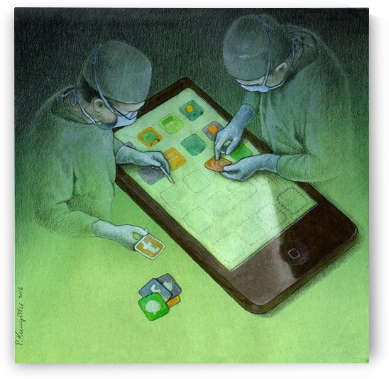 surgery by Pawel Kuczynski