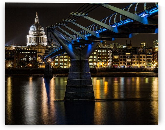 Millenium Bridge, London by Keith Truman
