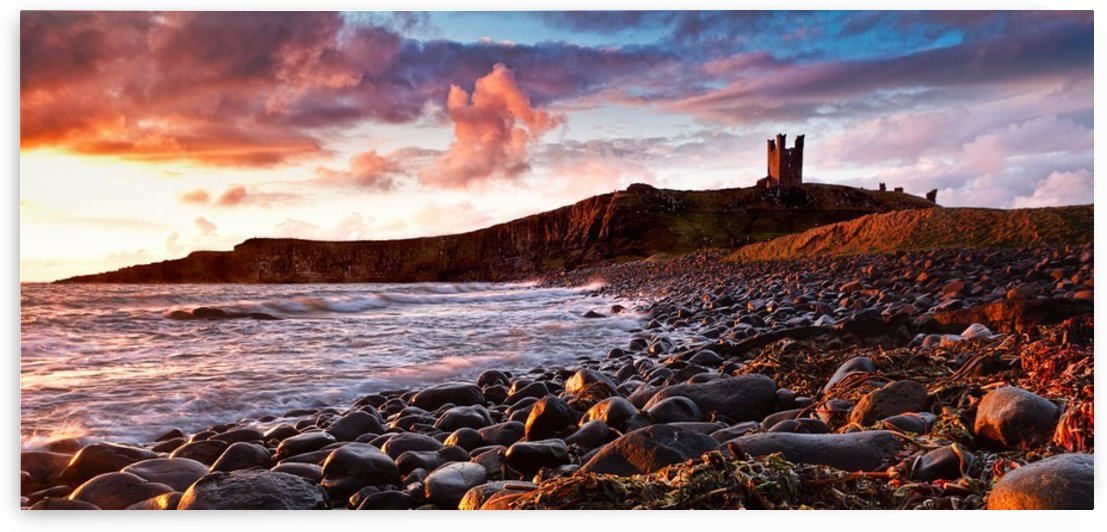 Dunstanburgh Castle, Northumberland, UK by Keith Truman