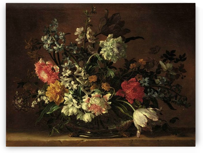 Still life of flowers by Jean Baptiste Monnoyer