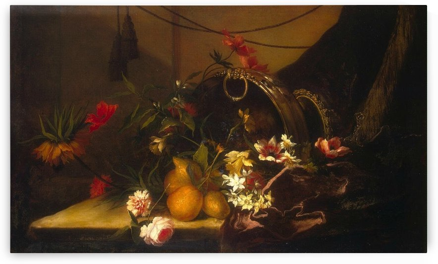 Fruit and flowers by Jean Baptiste Monnoyer