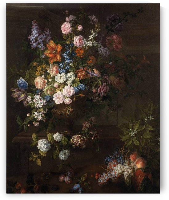 Flowers and fruits by Jean Baptiste Monnoyer