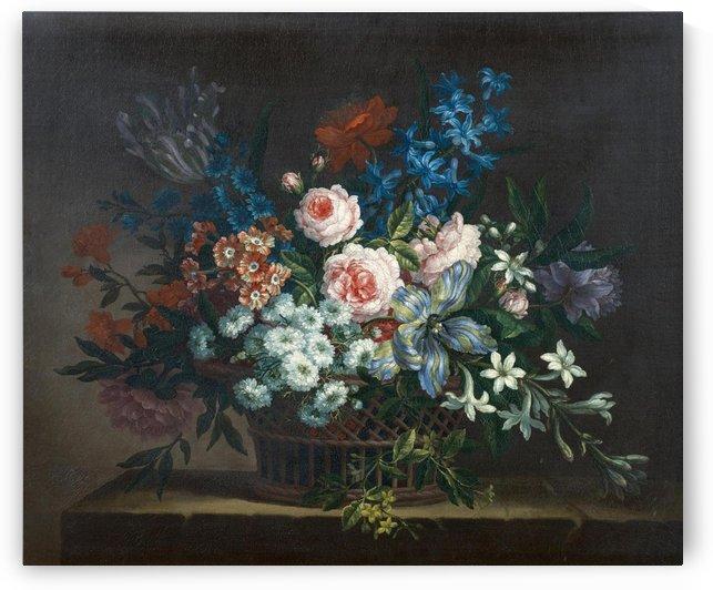 Blumenstillleben by Jean Baptiste Monnoyer