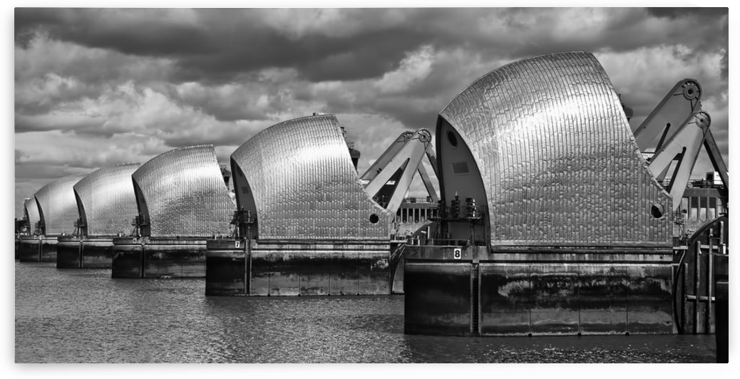 Thames Barrier, London, UK by Keith Truman