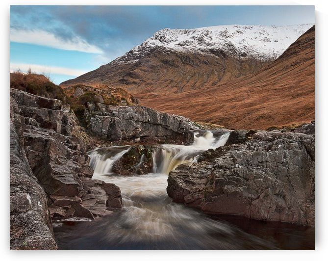 Glen Etive, Scotland by Keith Truman
