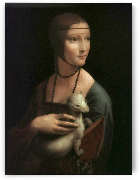 The Lady with Ermine by Leonardo da Vinci