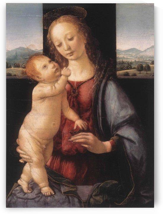 Dreyfus Madonna by Leonardo da Vinci