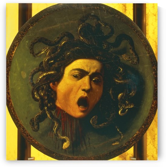 Medusa Shield by Leonardo da Vinci