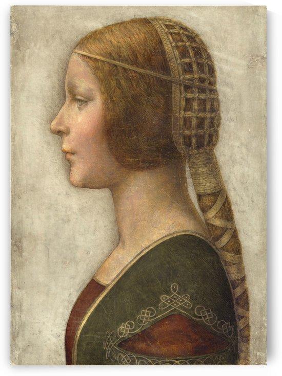Bella principessa by Leonardo da Vinci