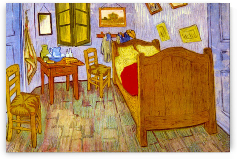 Bedroom at Arles by van Gogh by Van Gogh