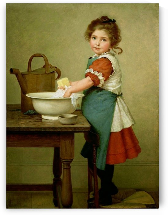 Washing Day by George Dunlop Leslie