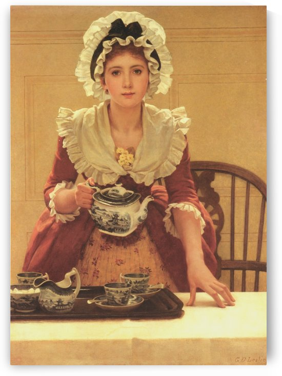 Tea by George Dunlop Leslie