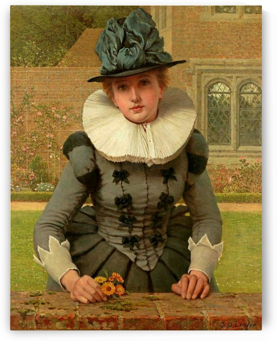 Sweet Anne Page by George Dunlop Leslie