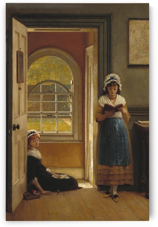 Kept in school by George Dunlop Leslie