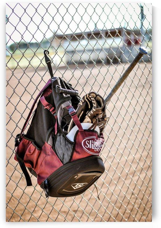 Sports Baseball 4 by Rachel Serrano