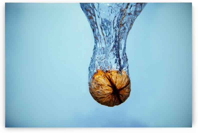 Amazing Walnut water splash by Levente Bodo