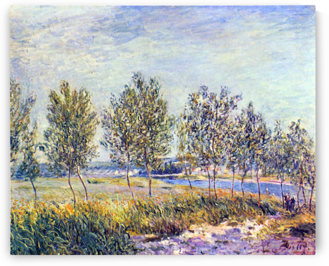 By meadow by Sisley by Sisley