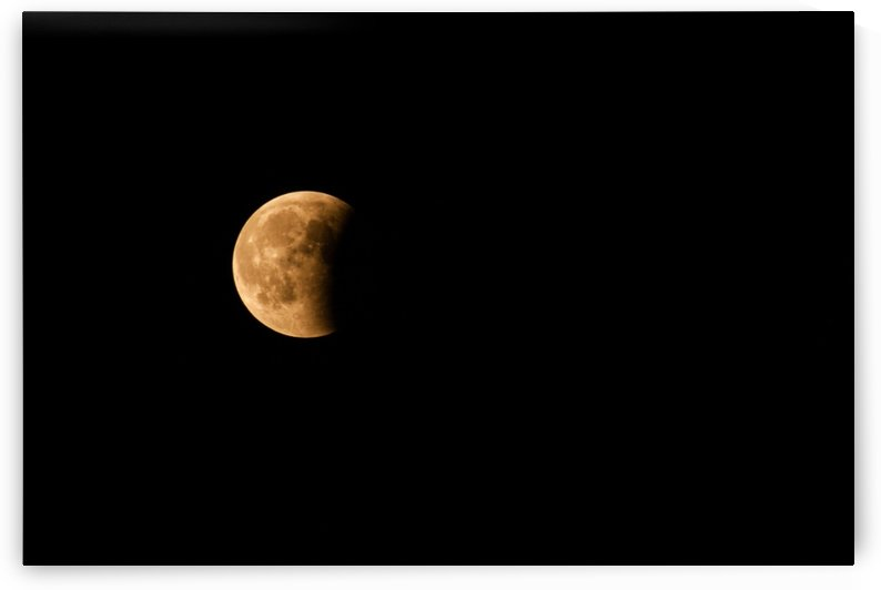Moon, total Lunar eclipse as seen by Levente Bodo