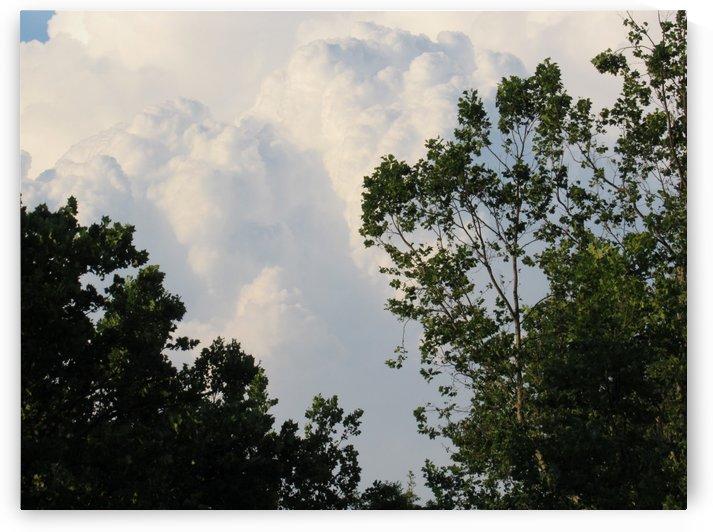 Clouds in Philomont, Va. by Deborah Morrow