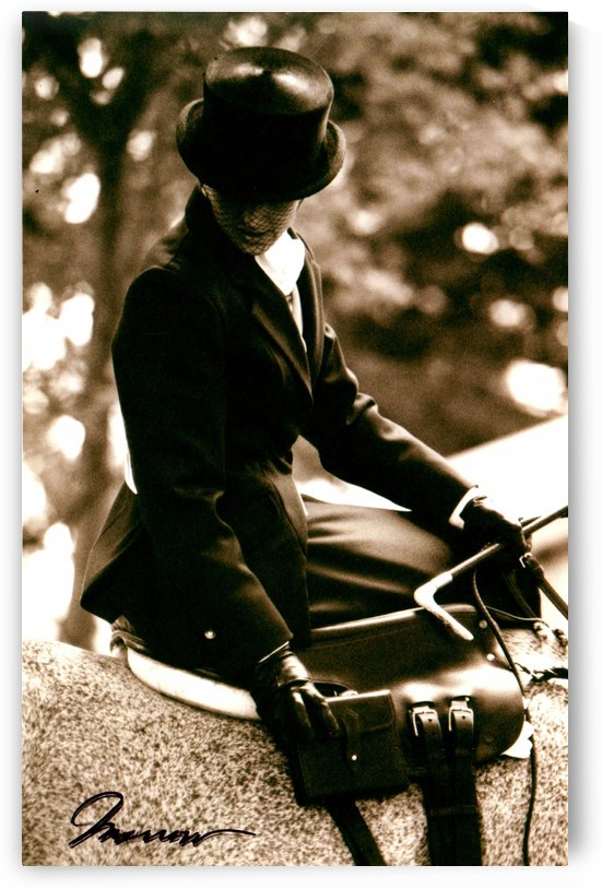 Sidesaddle at Upperville by Deborah Morrow