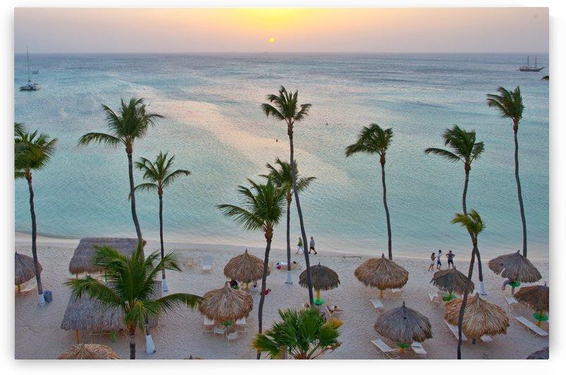 Caribbean Sunset by Melissa McGhee