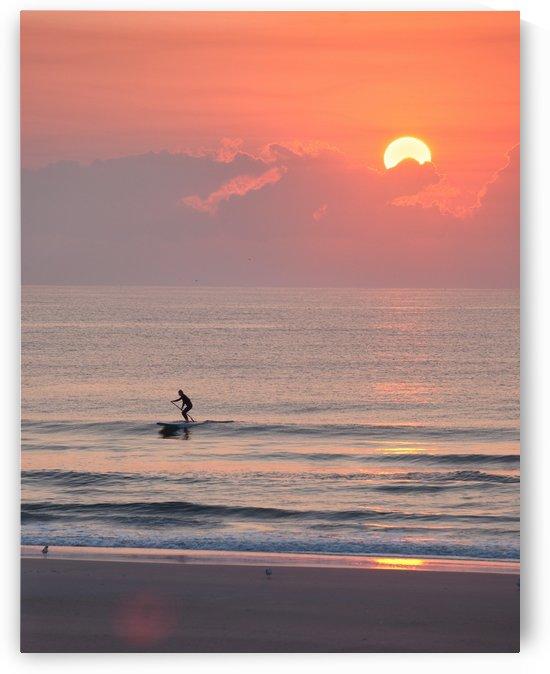Sunrise Paddleboarder II by Melissa McGhee