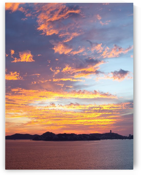 Acapulco Sunset III by Melissa McGhee