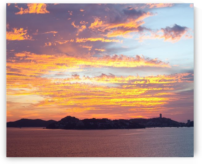 Acapulco Sunset II by Melissa McGhee