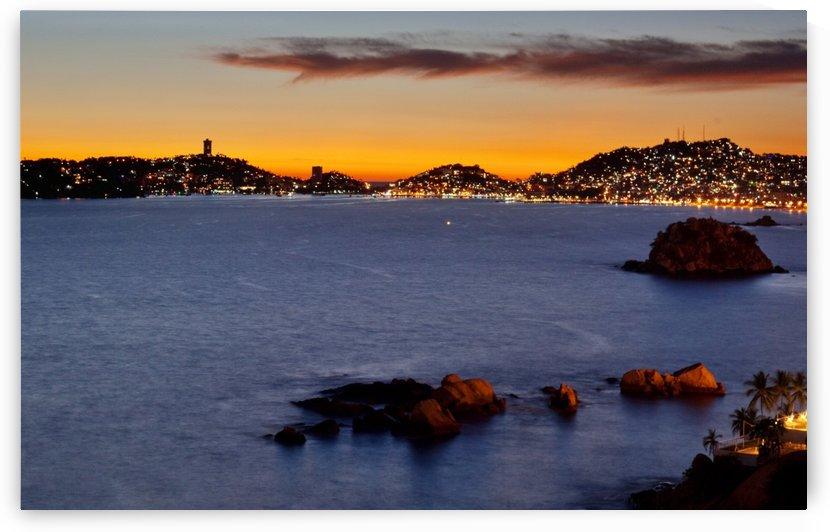 Acapulco Sunset by Melissa McGhee