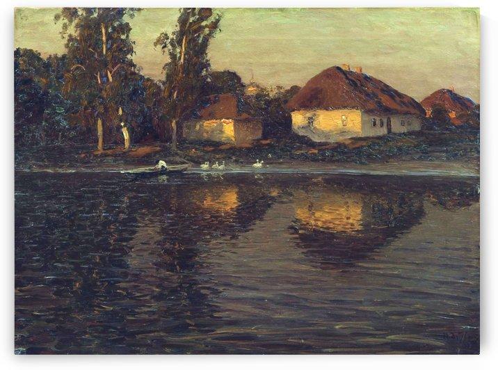 Evening in the Ukraine by Nikolay Dubovskoy