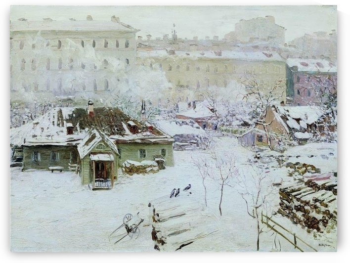 First Snow by Nikolay Dubovskoy