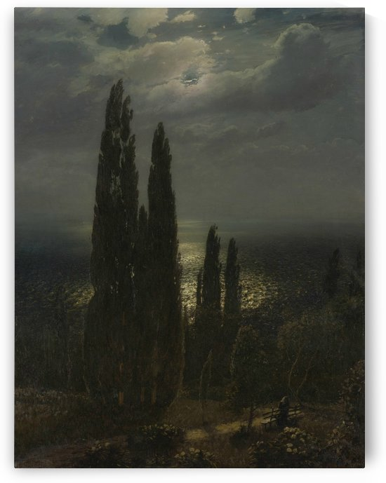 Night on the Southern Shore by Nikolay Dubovskoy