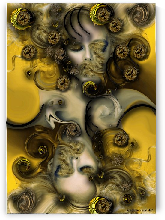 Movement with Venus by Carmen Fine Art