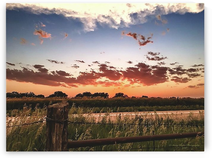 KANSAS COUNTRY DUSK by Marty Kugler