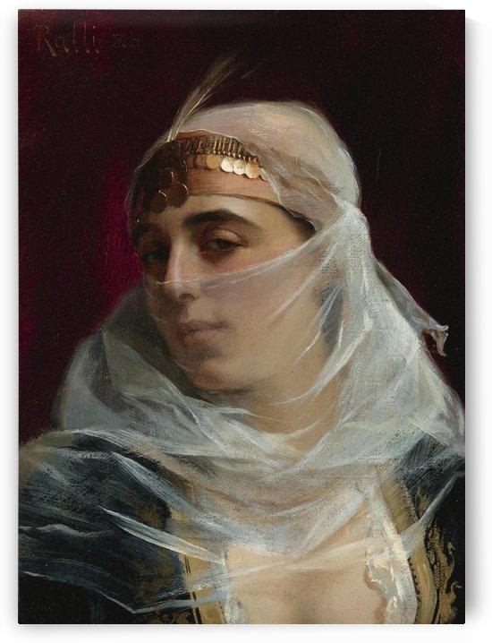 Turkish woman by Theodore Ralli