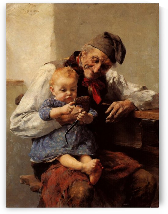 Grandpa and his favorite by Georgios Jakobides