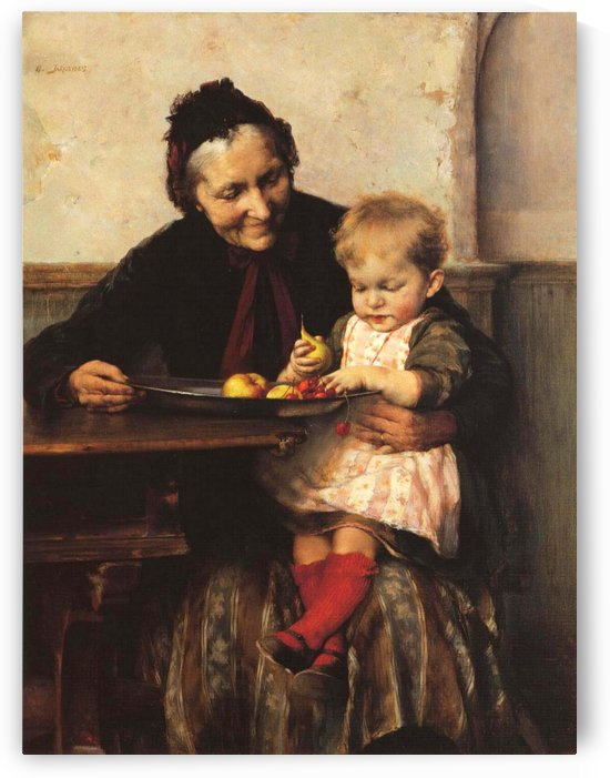 Grandma and his favorite by Georgios Jakobides