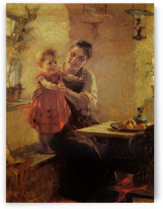 Learning the first steps by Georgios Jakobides