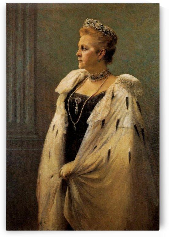 Portrait of Queen Olga of Greece by Georgios Jakobides