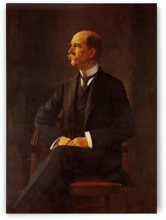 Portrait of King George I by Georgios Jakobides