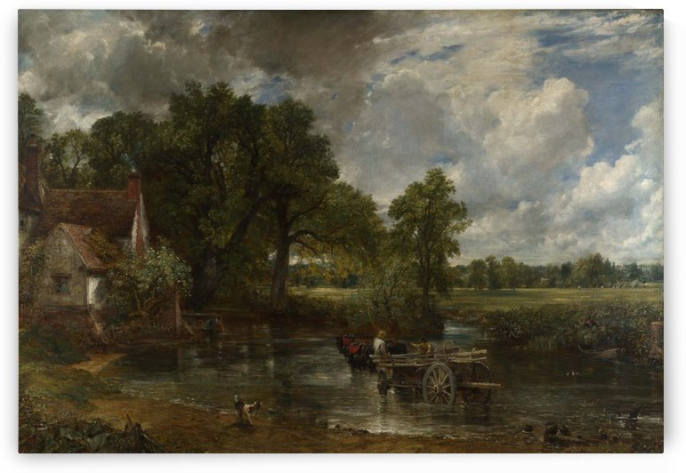 The Hay Wain by Myles Birket Foster