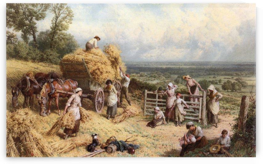 Harvest Time by Myles Birket Foster