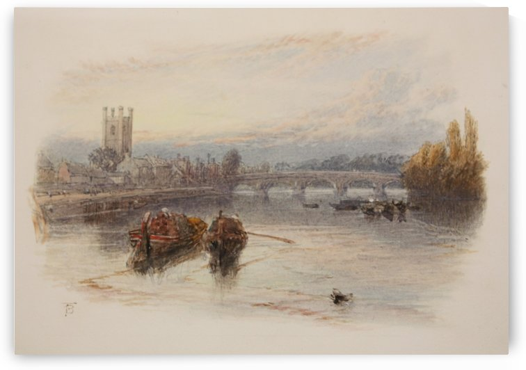 Henley on Thames by Myles Birket Foster