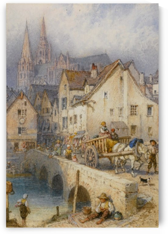 Chartres by Myles Birket Foster