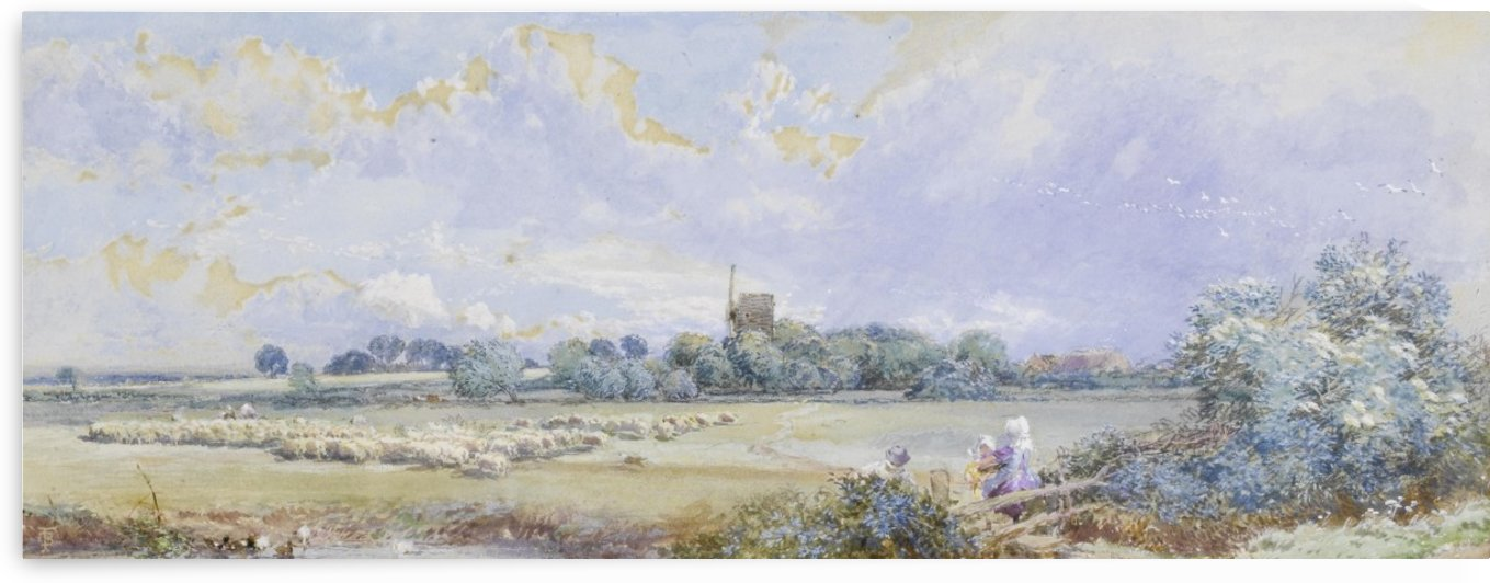 Spring time by Myles Birket Foster