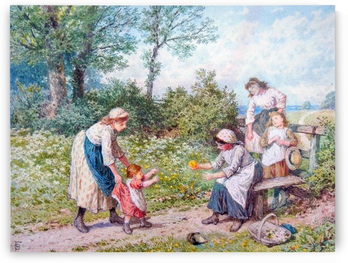 First steps by Myles Birket Foster