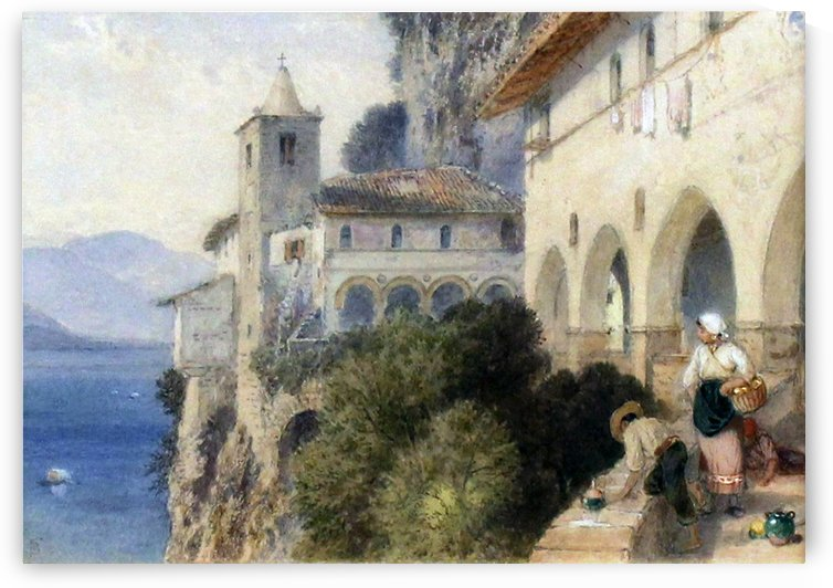 Catalina, Lake Maggiore by Myles Birket Foster